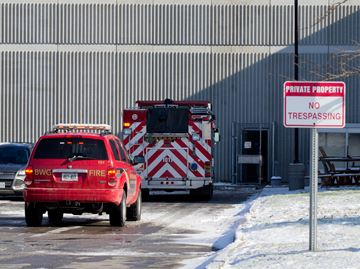 Bradford Fire puts out flames at Bradford welding shop