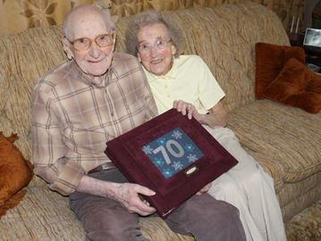 Grey Highlands couple celebrates 70th anniversary