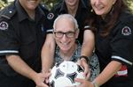 Two Burlington oldtimers soccer players revived on fields within a week
