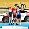 Two gold and a bronze at Milton Velodrome meet
