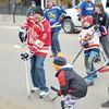 Midland enjoys the good ol' street hockey game