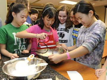 Oakville's Palermo students bake up plans for change