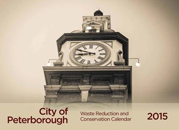 The City of Peterborough 2015 Waste Reduction and Conservation Calendar