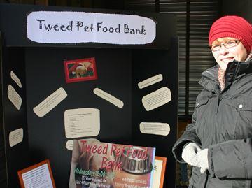 Tweed Pet food bank