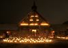 Peaceful glow illuminates Sainte-Marie among the Hurons