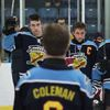 Hockey players pay tribute to Alliston's Kyle Coleman