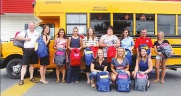 Businesses stu the bus for Good Backpack Program– Image 1
