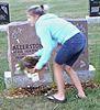 Gravesite thief