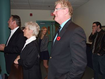 Orillia polls start to trickle in