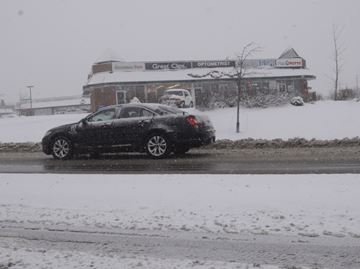 Few accidents in Halton as a result of latest snowfall