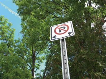 Alcona residents still upset about sudden no parking zone