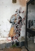 Banksy's 'Spy Booth' artwork defaced-Image1