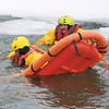 Tiny Township firefighters undergo ice rescue training