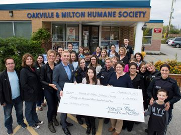 Oakville humane society goes the distance for the animals in half-marathon