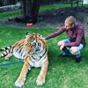 Justin Bieber and tiger