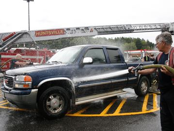 FIREFIGHTERS HOST CAR WASH