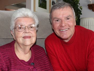 Reunited after 65 years, Stayner woman and son to celebrate first Christmas together