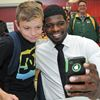 PK Subban visits Port Perry