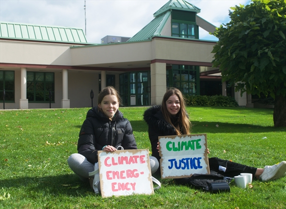 Inspired teens continue push for climate change