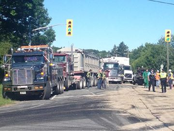 Transport truck collisions spark OPP campaign