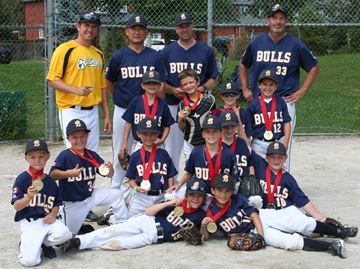 Minor rookie Bulls win COBA A championship
