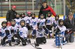 Meaford Georgian Shores Tyke team on a roll