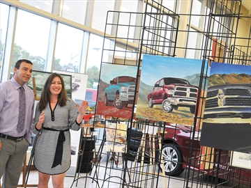 Uxbridge Arts and Trucks for Celebration of the Arts