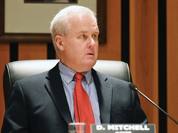 Don Mitchell, Whitby mayor