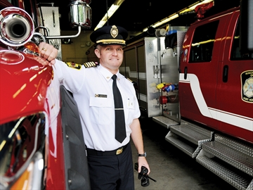 Firefighter of the Year Ryan Edgar