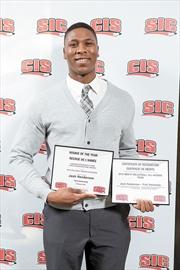 CIS Rookie of the Year Josh Henderson