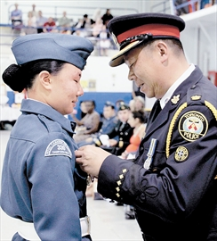 Cadet Honoured