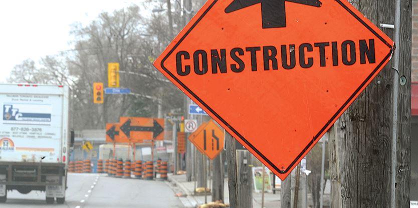 ROAD WORK AHEAD: Sidewalk construction will affect traffic on Harmony Road