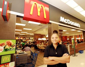 Resident earns manager of year award from McDonald's