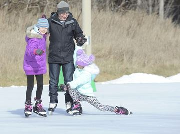 Skate with Damoff at Oakville's Bronte Park
