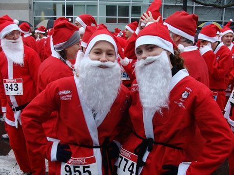 Claus Ing In On The Finish Line