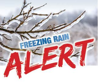 FREEZING RAIN POSSIBLE