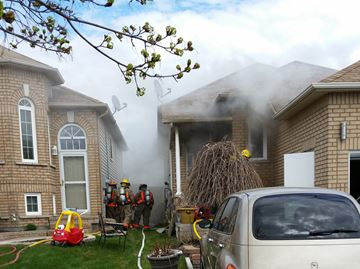 Bowmanville house fire caused by blowtorch