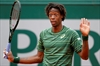 The Latest: Gael Monfils into French 4th round the hard way-Image1