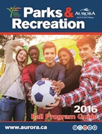 Fall parks and recreation guide