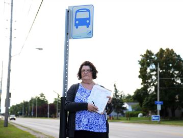 Milton woman petitions for increased transit service