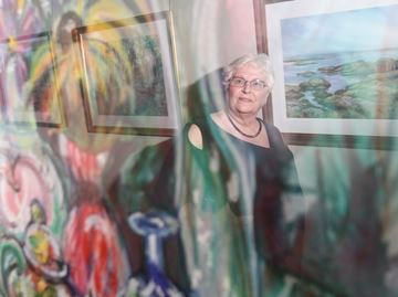 Rosemary Simpson exhibit at Milton Centre for the Arts captures 25 years of work
