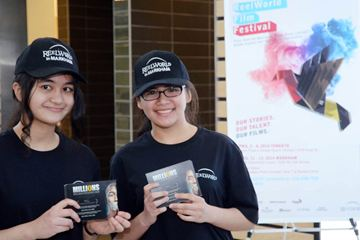 Franzelah Gallo (left) and Alessandra Taneo will get you tickets to the ReelWorld Film Fest.