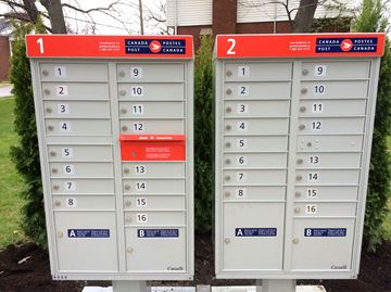 Canada Post super mailbox Pinehurst Drive 2