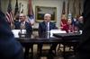 Bankers meet Trump