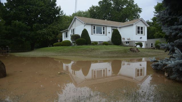 Insurance bureau estimates $80M of insured losses in Burlington flooding; local disaster relief comittee