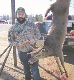 Third-place buck