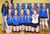 County junior girls volleyball champs