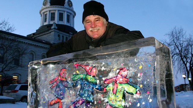 Froid'Art creator David Dossett