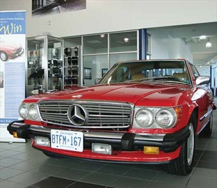 Time is running out to buy tickets in a draw that offers a chance to win a classic convertible roadster, 1988 Mercedes Benz 560 SL, valued at $40,000. The car was once owned by gold-medal Olympic skating champion Barbara Ann Scott. The draw will be held on May 9 and tickets are $100 each, with only 1,948 sold in honour of Scott's performance in the 1948 Winter Olympics. All proceeds will go to the Perley and Rideau Veteran's Health Centre's $5-million Building Choices, Enriching Lives campaign, aimed at funding construction of 139 specially-designed apartments for seniors and veterans. To purchase tickets call 613-526-7173 or download the order forms at perleyrideau.ca-mercedes.
