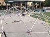 Damaged dome